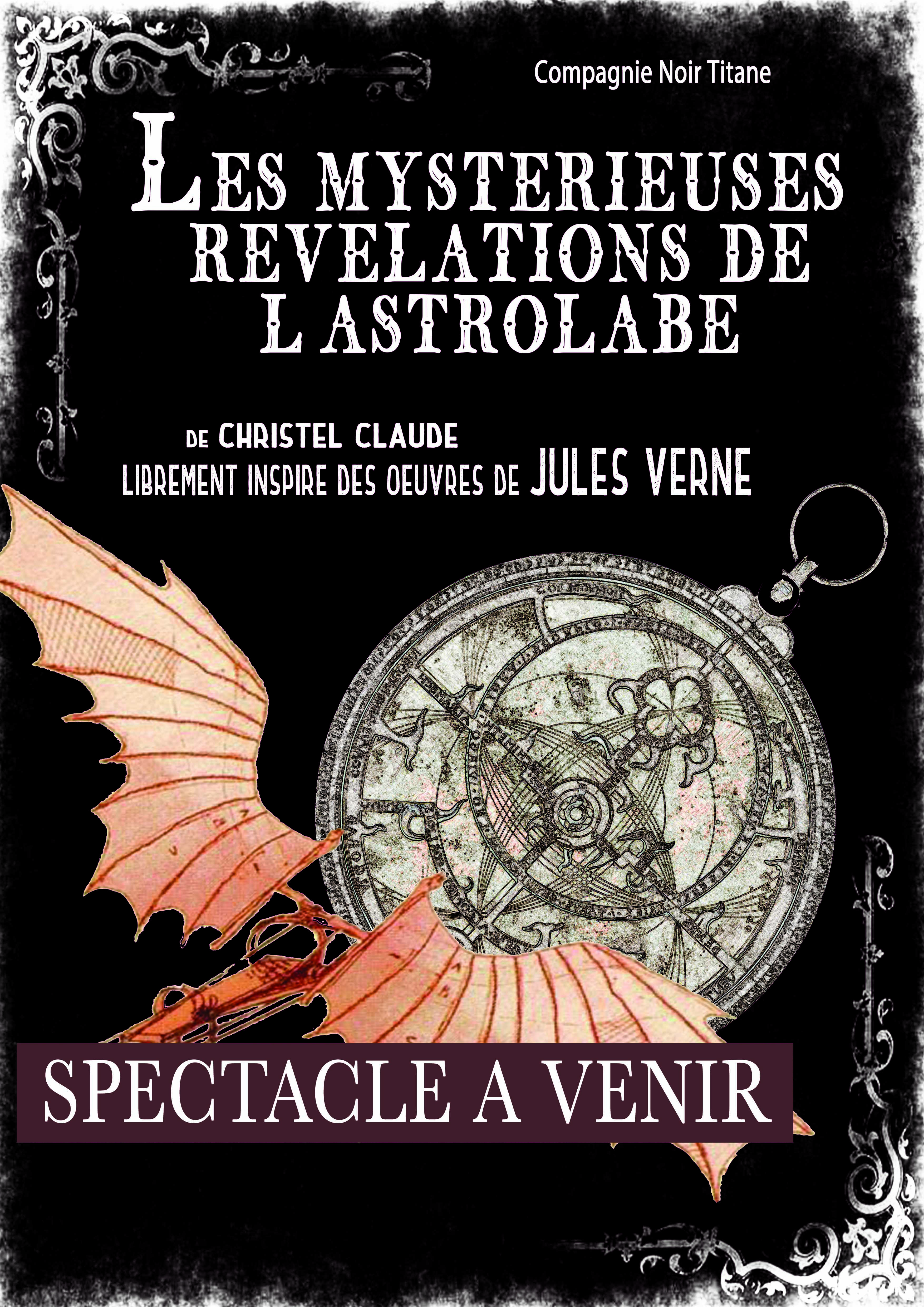 affiche Les mysterieuses revelation de l'astrolabe